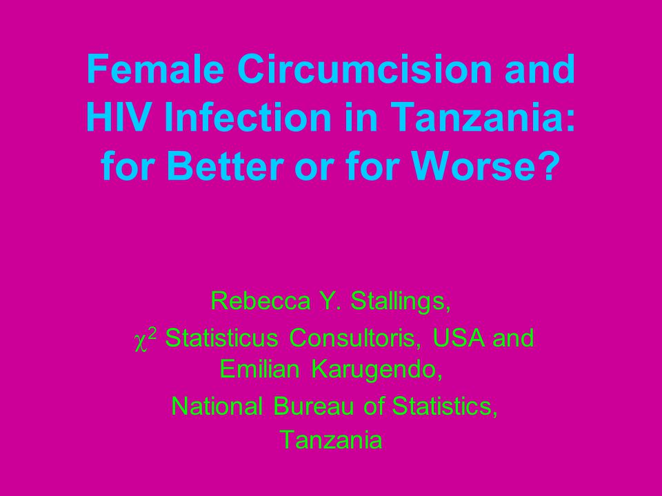 Data Source This analysis and its findings are derived from the 2003-04 Tanzania HIV/AIDS Indicator Survey (the THIS), which is currently available for public use.