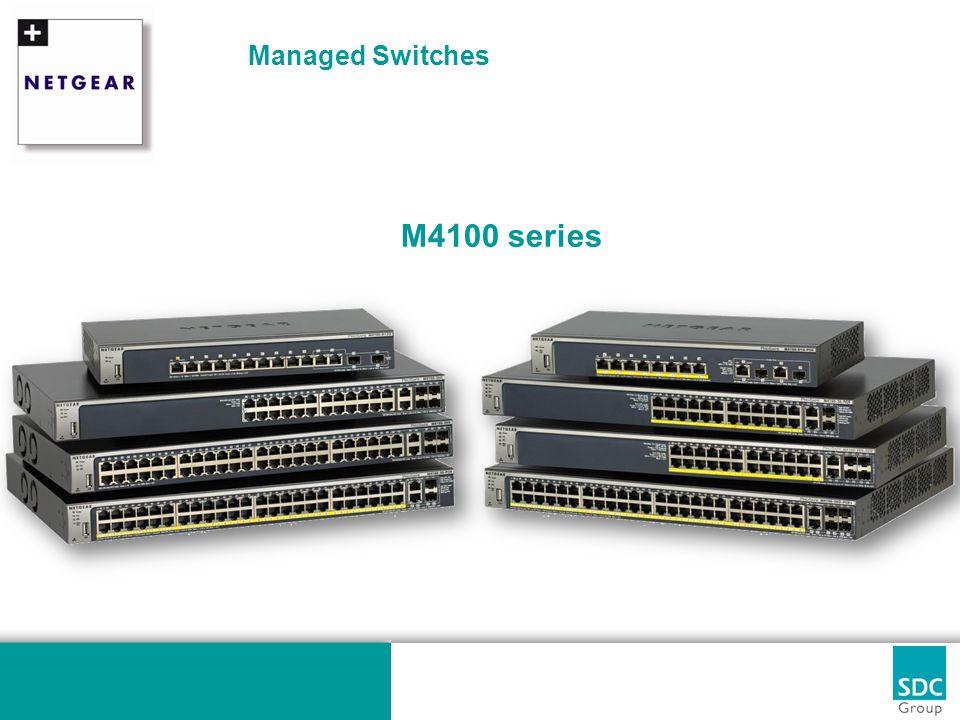 M4100 series : De sleutel tot succes.Waarom met Netgear de deal winnen.