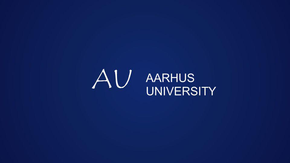 AARHUS UNIVERSITY AU