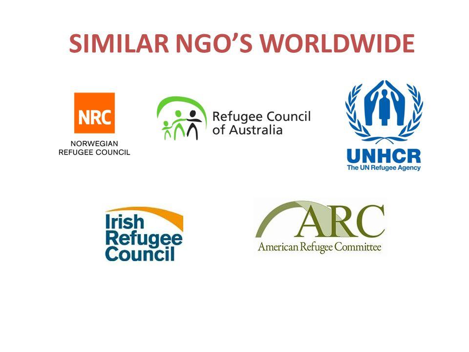 SIMILAR NGO'S WORLDWIDE