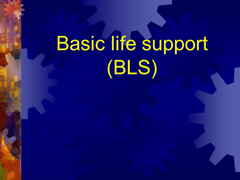 Steps of the BASIC LIFE SUPPORT RAPID ACTIVATION OF THE EMERGENCY SYSTEM
