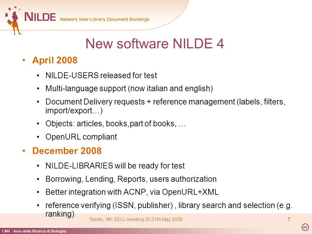 Etichette DD e Tracking Dati del Riferimento Navigazione per pagine e ordinamento Filtri