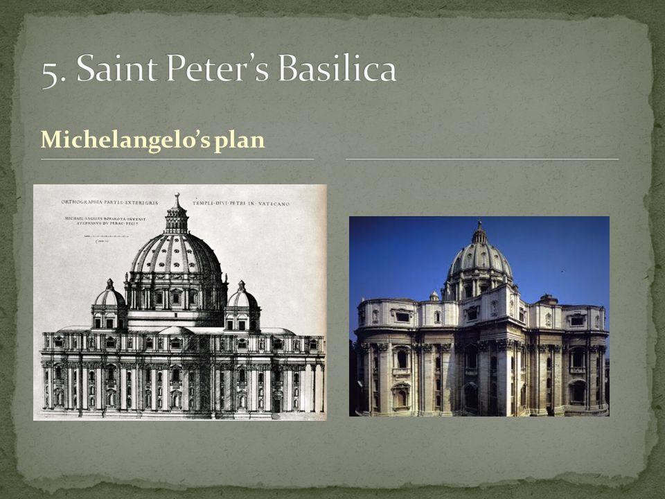 Michelangelo's plan