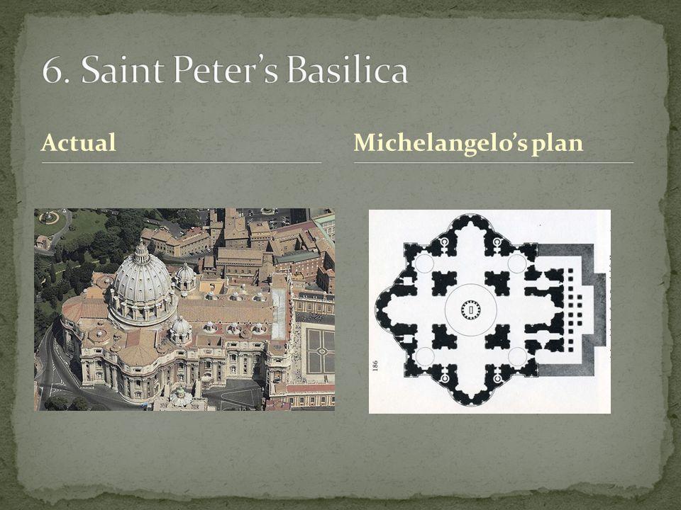 ActualMichelangelo's plan