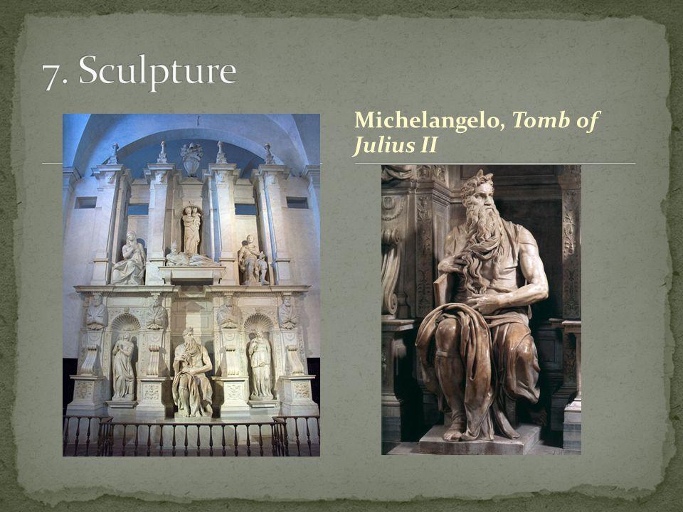 Michelangelo, Tomb of Julius II