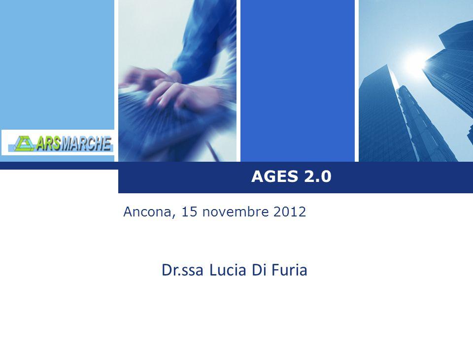 L o g o AGES 2.0 Ancona, 15 novembre 2012 Dr.ssa Lucia Di Furia
