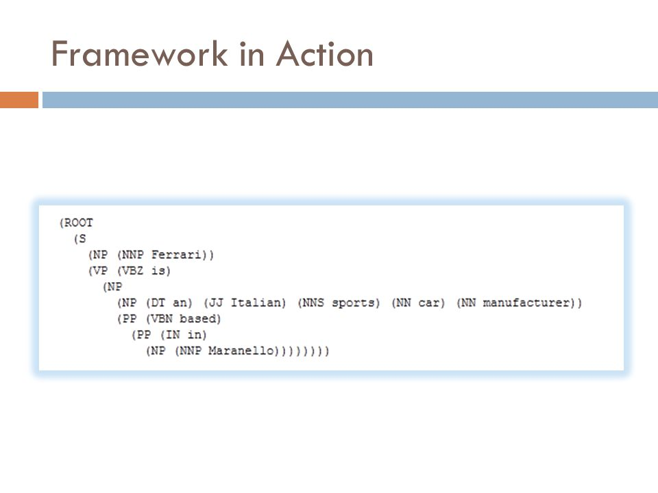 Framework in Action