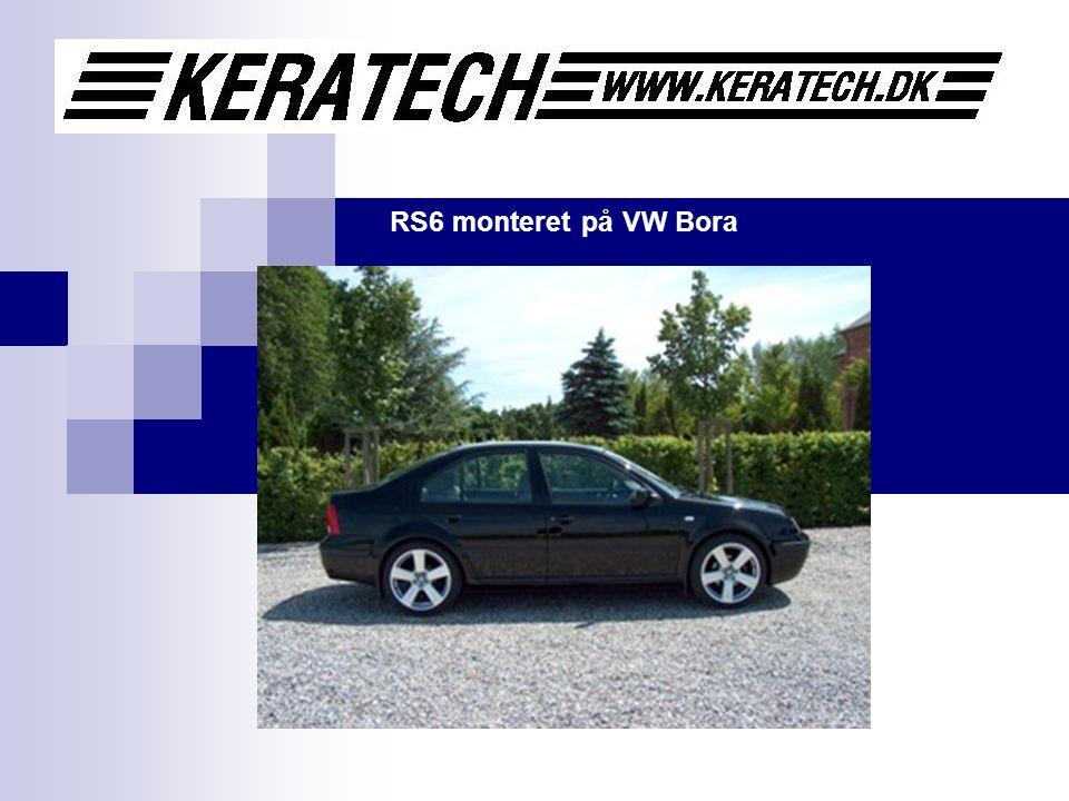RS6 monteret på VW Bora