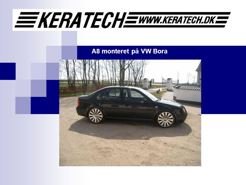 A8 monteret på VW Bora