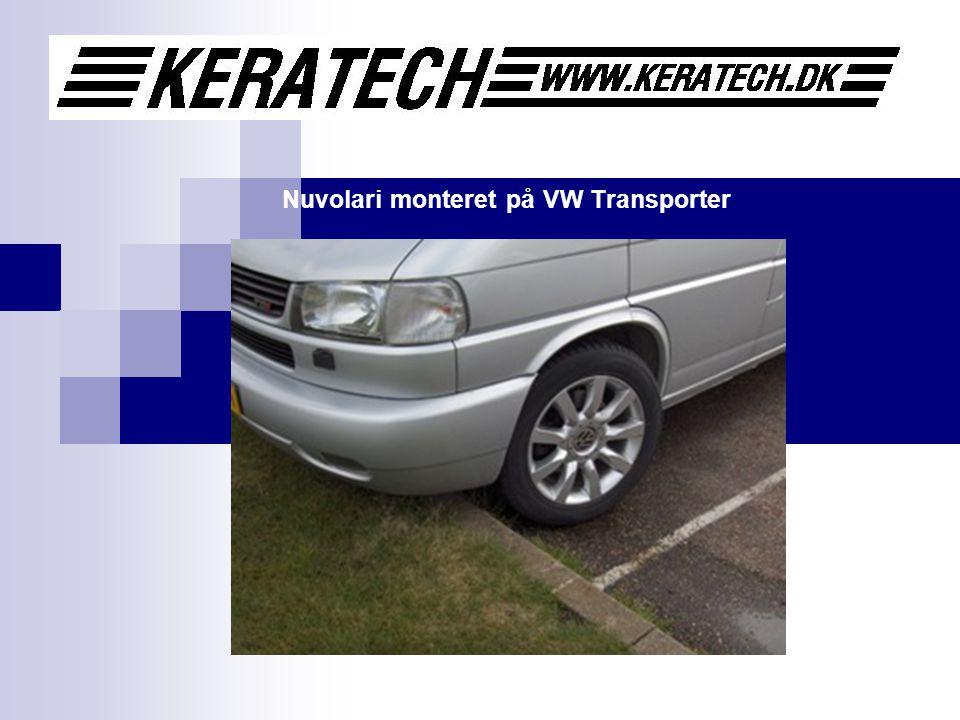 Nuvolari monteret på VW Transporter