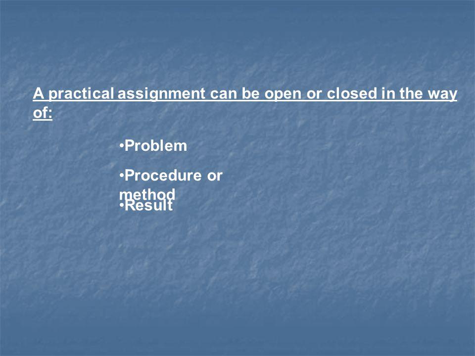 ProblemprocedureResult dictated / closed open open open dictated / closed open openopen open open openopen openopenopen