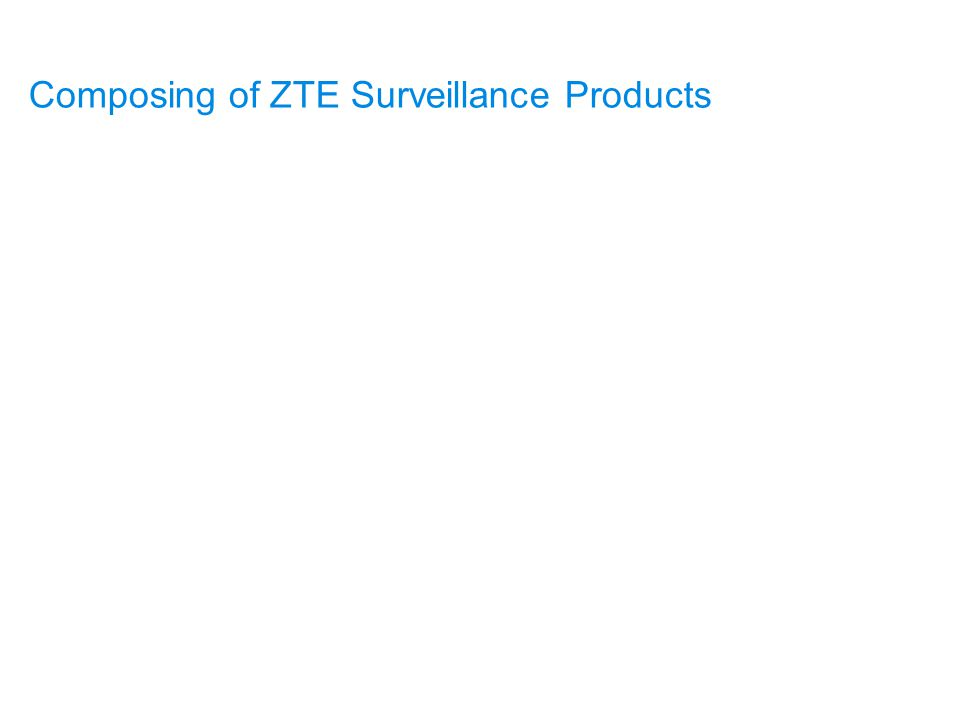 Composing of ZTE Surveillance Products Monitored Power Equipments Sensors and Transducers Collection Module Transmission and Networking Network Management Composition and Application of Power & Environment Centralized Supervision System Maintenance and Troubleshooting of Supervision System
