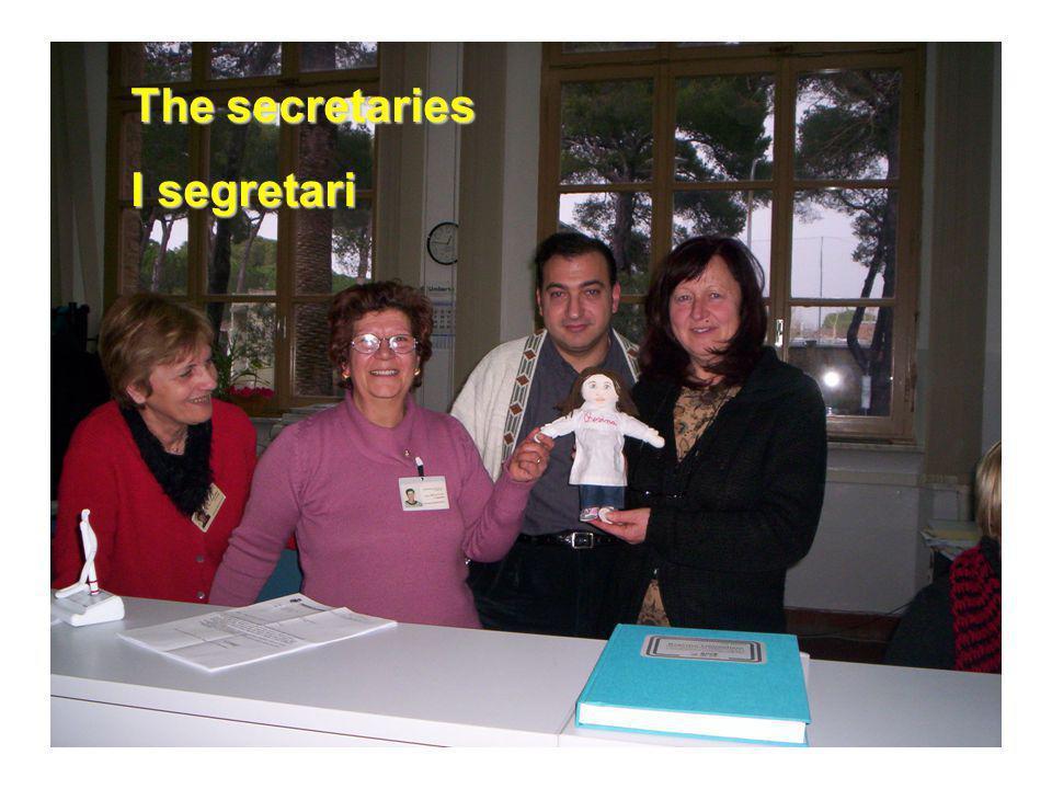 The secretaries I segretari