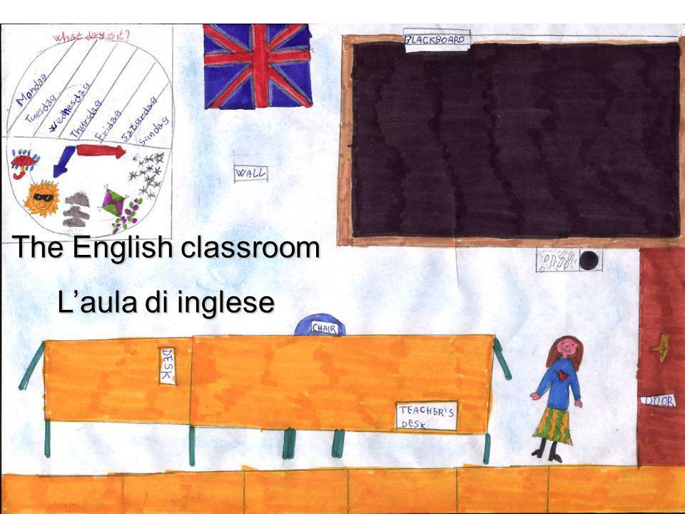 The English classroom L'aula di inglese