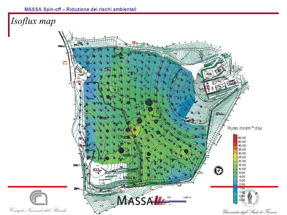 MASSA Spin-off – Riduzione dei rischi ambientali Isoflux map