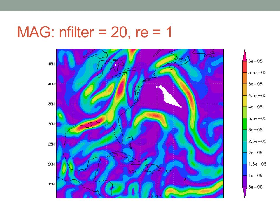 MAG: nfilter = 20, re = 1