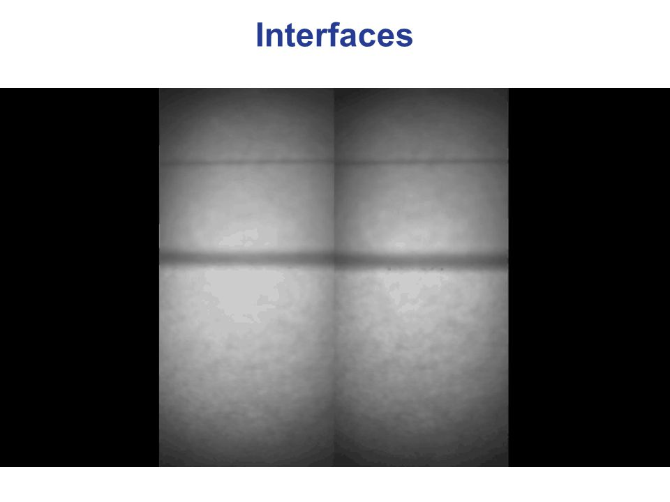 Interfaces and Catalysis In (heterogeneous) catalysis interfaces are crucial !