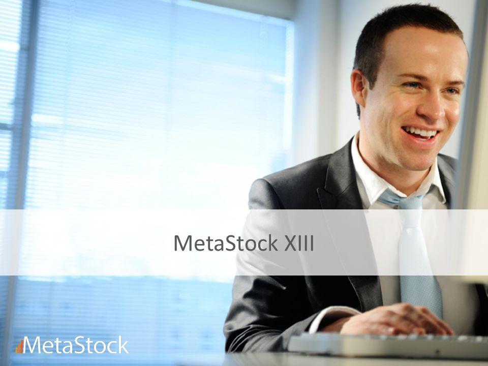 MetaStock XIII