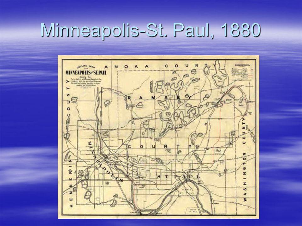 Minneapolis-St. Paul, 1880