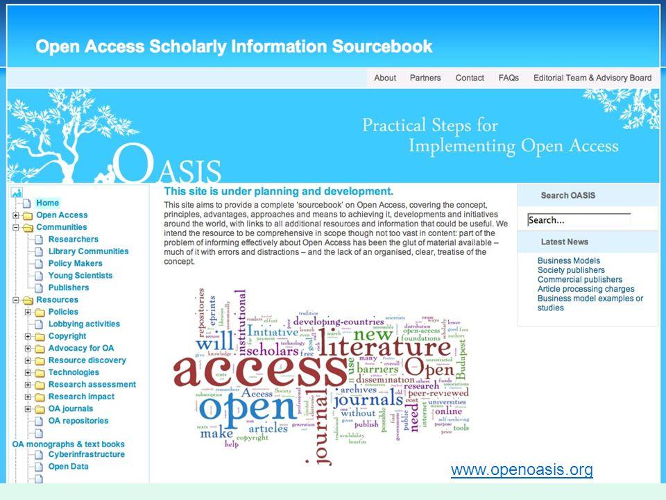 www.openoasis.org