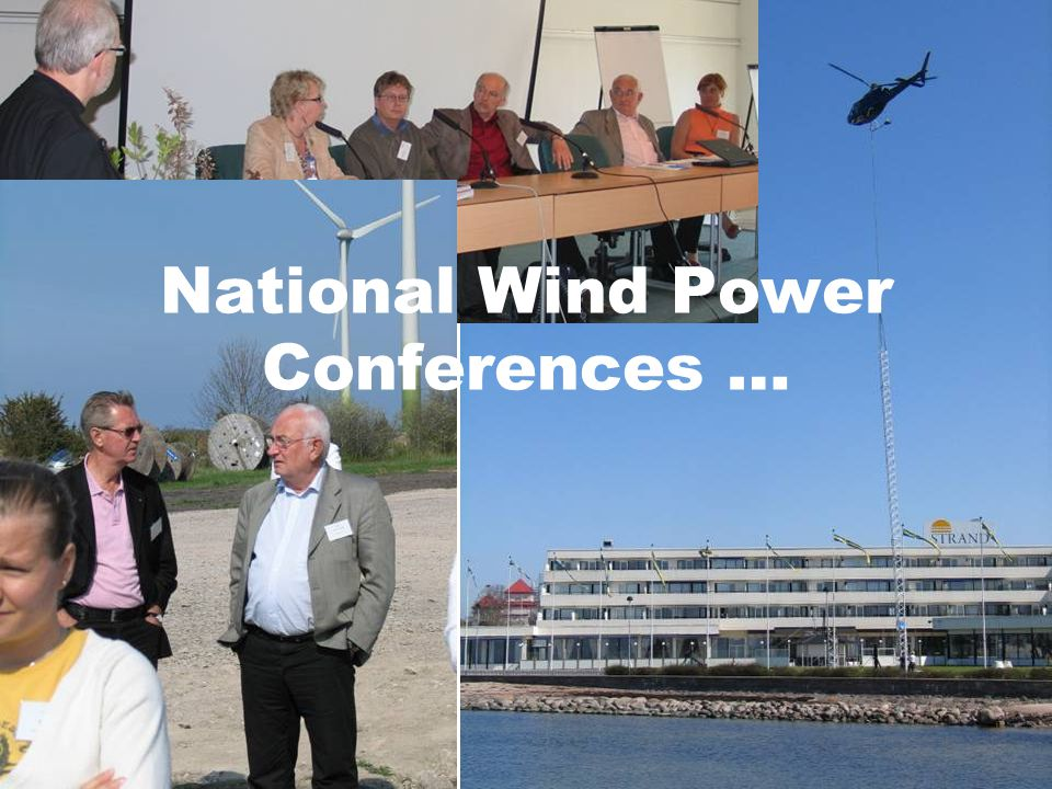 National Wind Power Conferences …