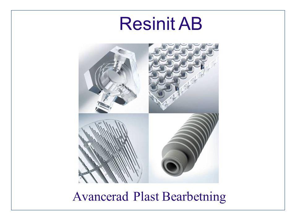 Avancerad Plast Bearbetning Resinit AB