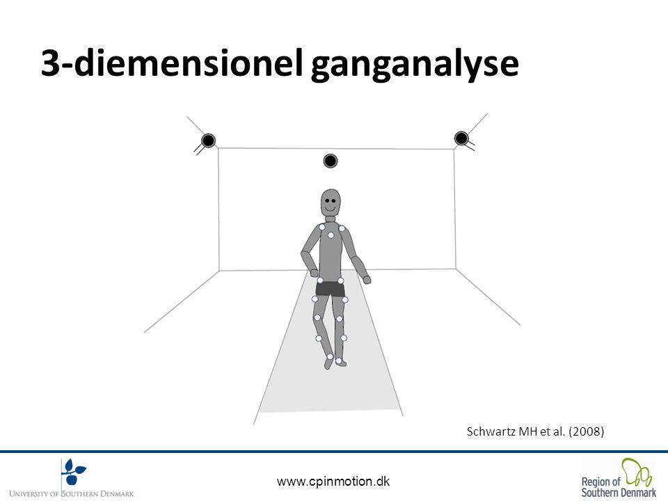 www.cpinmotion.dk 3-diemensionel ganganalyse Schwartz MH et al. (2008)