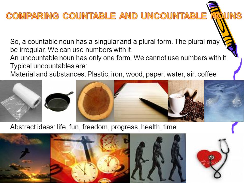 Some words can be countable or uncountable with a change in meaning.