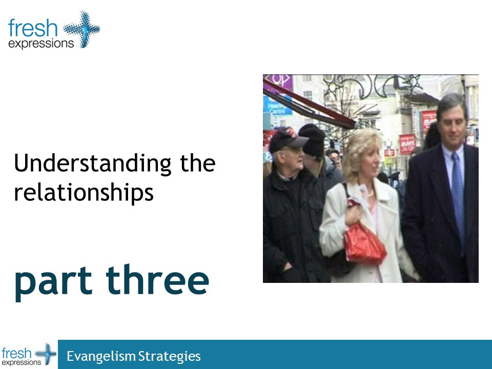 part three Understanding the relationships Evangelism Strategies