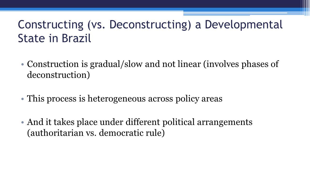 Constructing (vs.