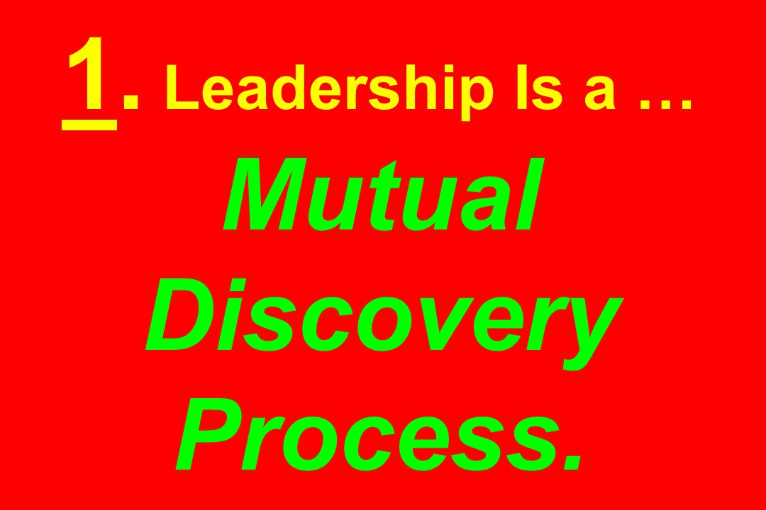 The Golden Leadership Quadrangle: (1) Talent Fanatic- Mentor … (2) Creator-Visionary … (3) Inspired Profit Mechanic … (4) Technology Dreamer-True Believer