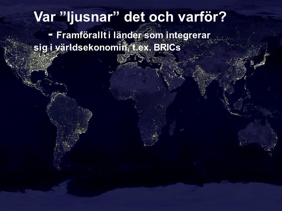 The Swedish Government: …..