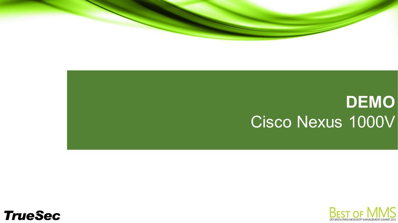 DEMO Cisco Nexus 1000V