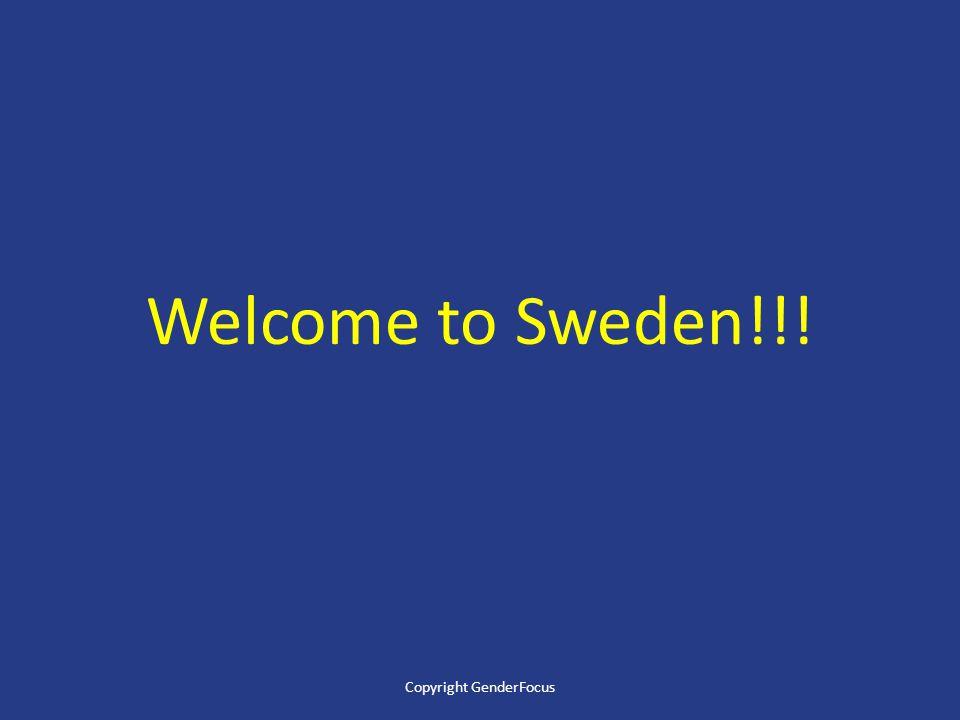 Welcome to Sweden!!! Copyright GenderFocus