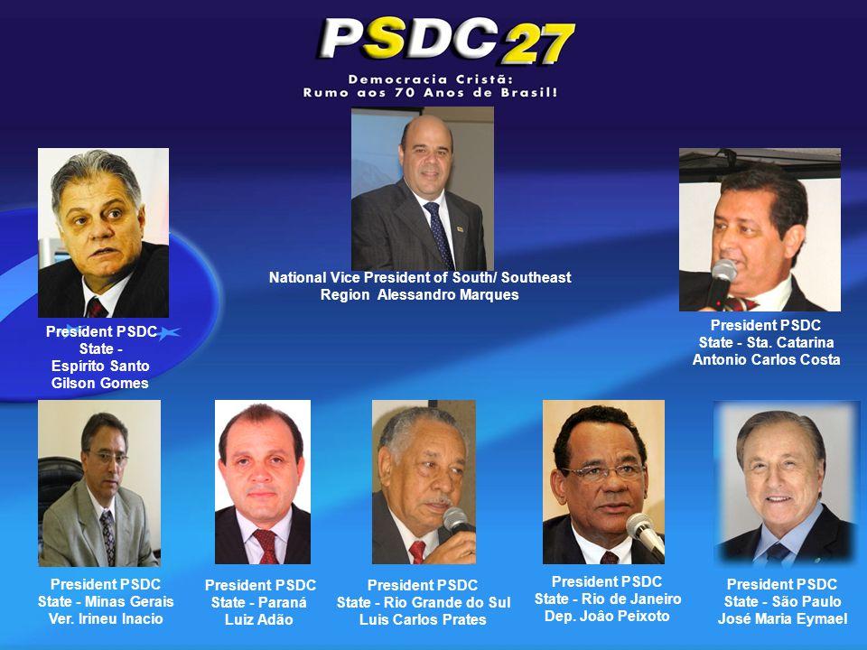 President PSDC State - Minas Gerais Ver.