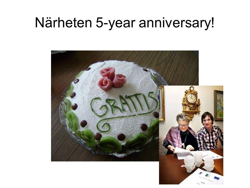 Närheten 5-year anniversary!