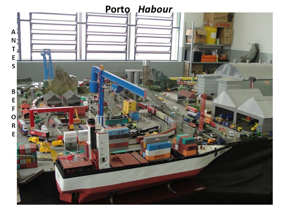 Porto Habour ANTESBEFOREANTESBEFORE