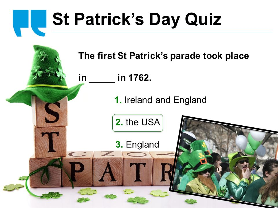 Cidália Sousa Cláudia Regina Abreu Vanessa Reis Esteves punk hairstyle St Patrick's Day Quiz The first St Patrick's parade took place in _____ in 1762.
