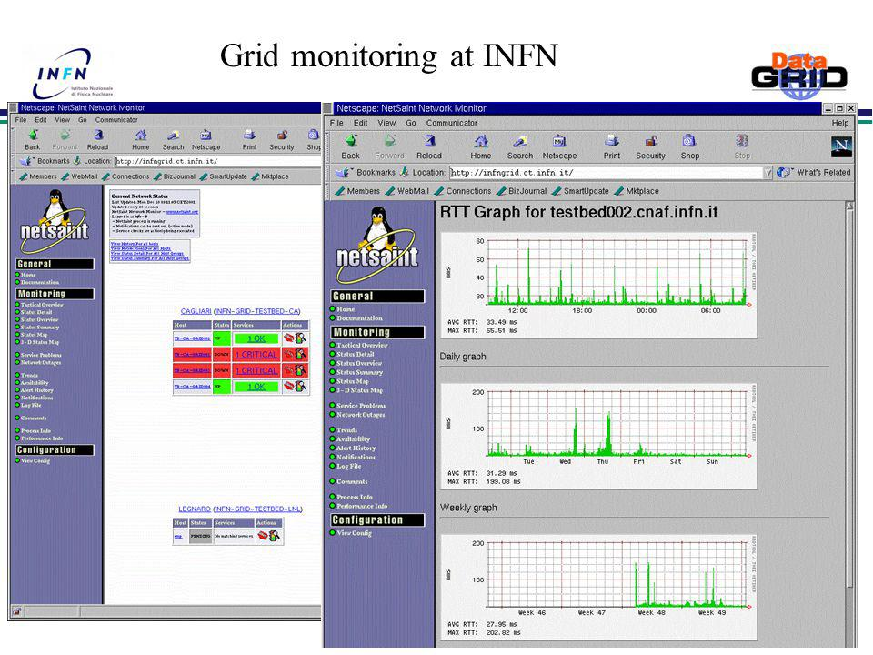Grid monitoring at INFN