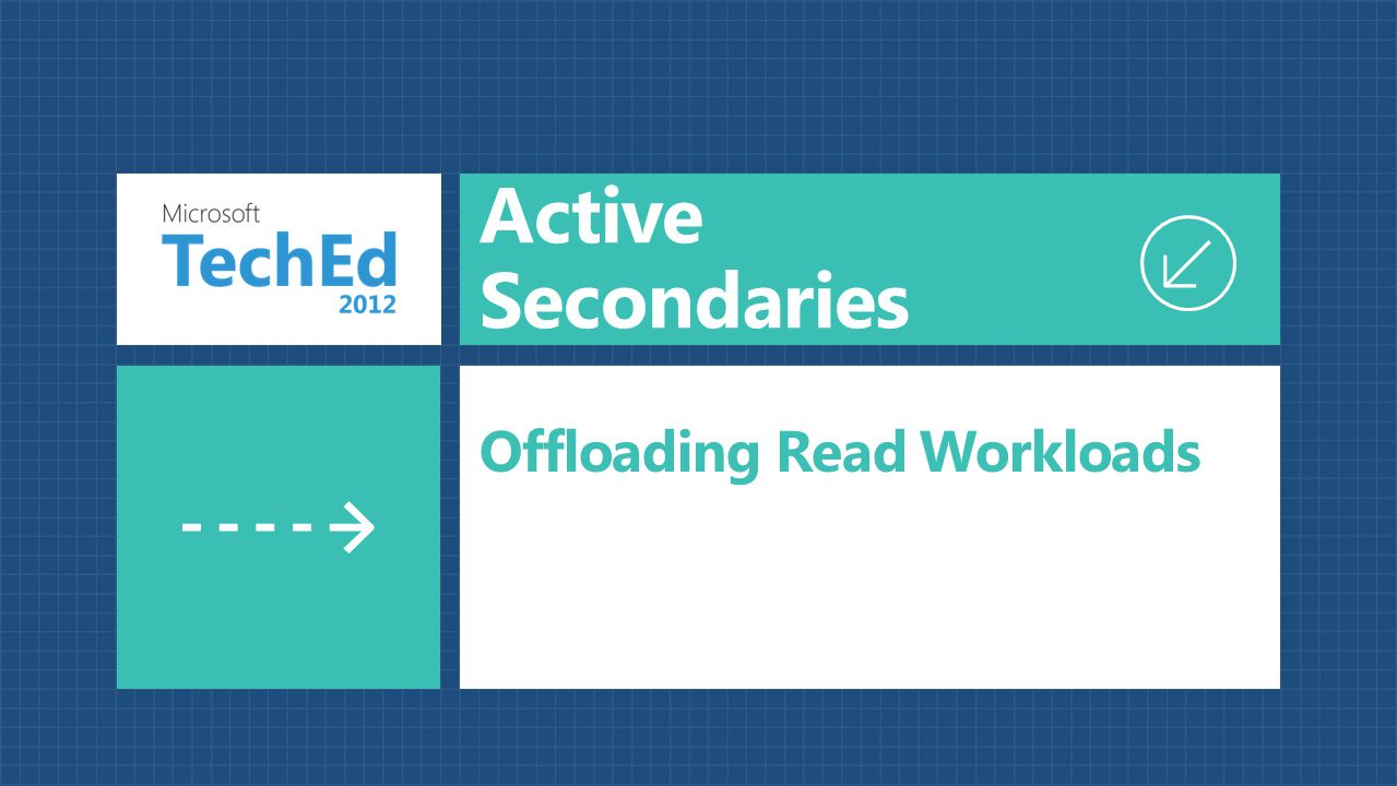 Active Secondaries Offloading Read Workloads
