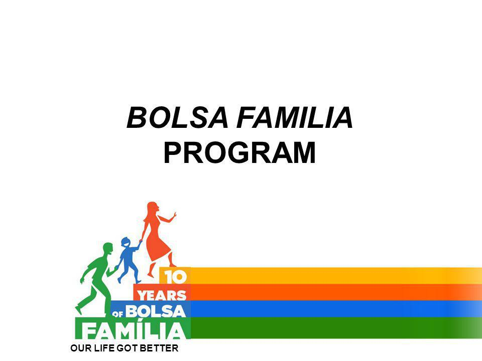 BOLSA FAMILIA PROGRAM OUR LIFE GOT BETTER