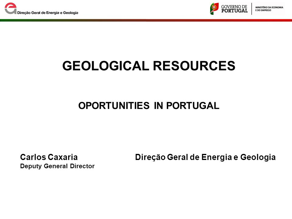 METALLIC MINERAL RESOURCES POTENCIAL and EXPLORATION CURRENT SITUATION