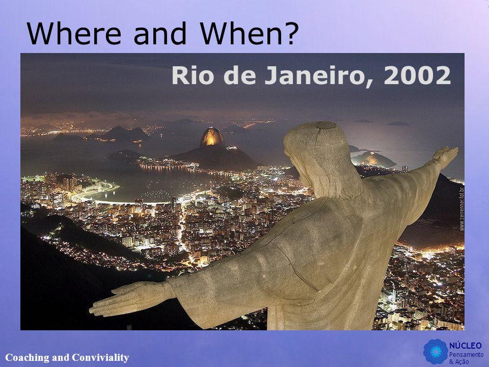 NÚCLEO Pensamento & Ação Coaching and Conviviality Where and When Rio de Janeiro, 2002