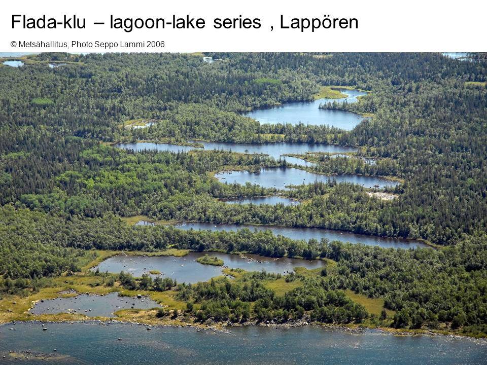 25Keijo Nenonen and Olli Breilin, MAEGS-15, 16.9.2007 Flada-klu – lagoon-lake series, Lappören © Metsähallitus, Photo Seppo Lammi 2006