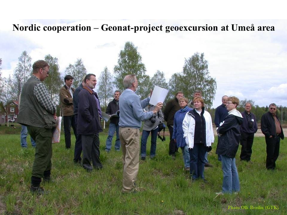 36Keijo Nenonen and Olli Breilin, MAEGS-15, 16.9.2007 Nordic cooperation – Geonat-project geoexcursion at Umeå area Photo Olli Breilin (GTK)