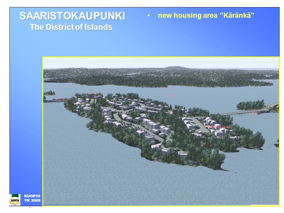 new housing area Käränkä KUOPIO YK 2005