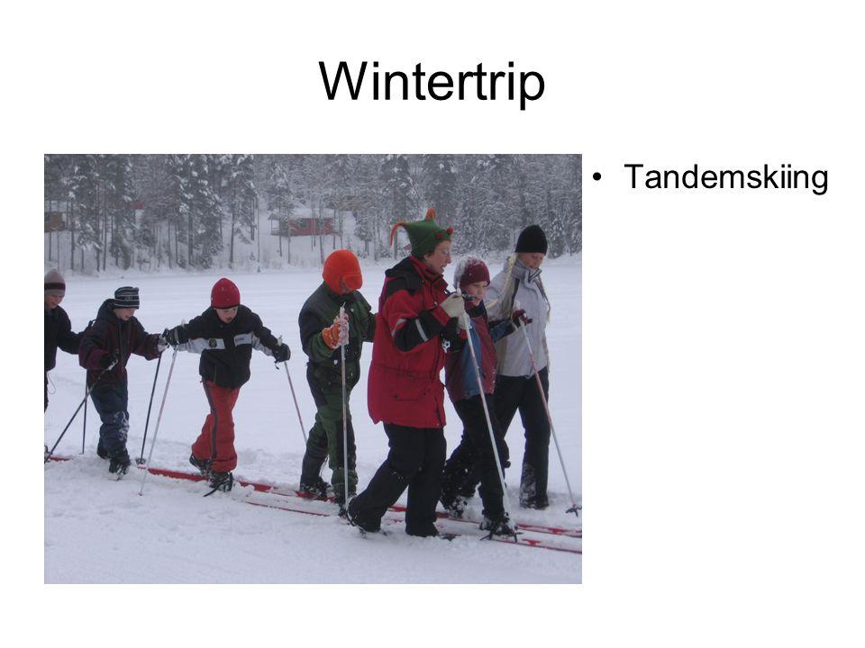 Wintertrip Tandemskiing