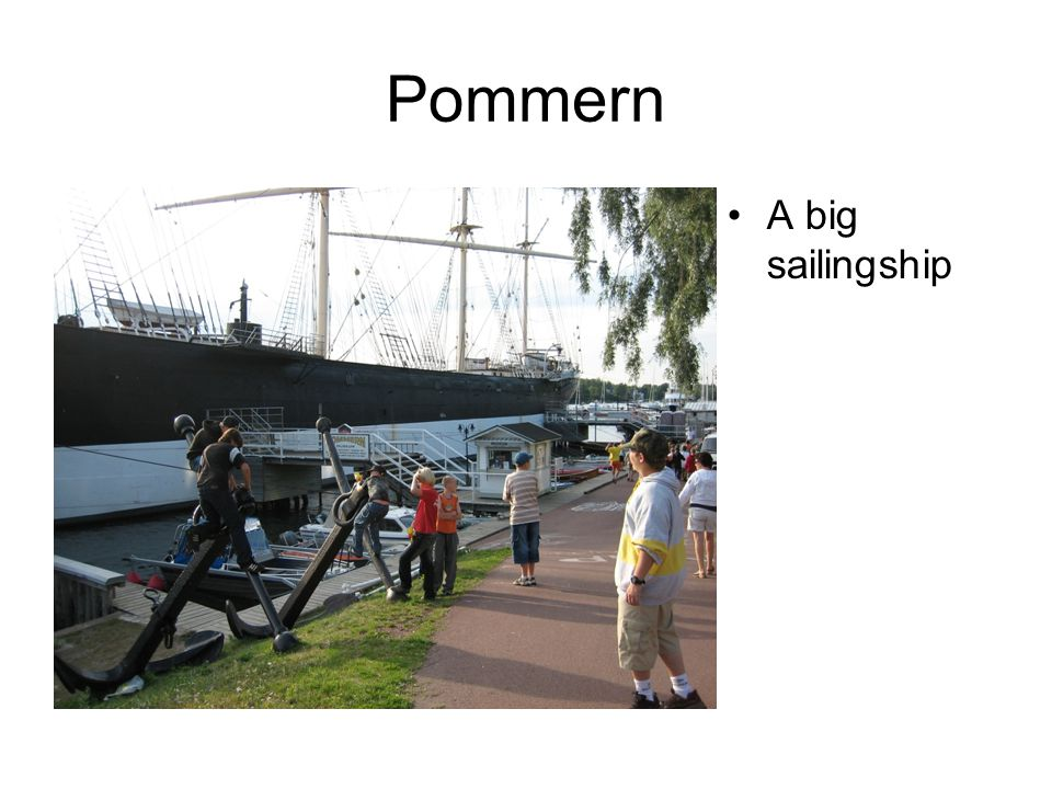 Pommern A big sailingship