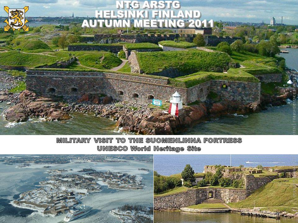PUOLUSTUSVOIMAT FÖRSVARSMAKTEN FINNISH DEFENCE FORCES Suomenlinna, a fortress near Helsinki sea fortification in front of Helsinki 4 PUOLUSTUSVOIMAT F
