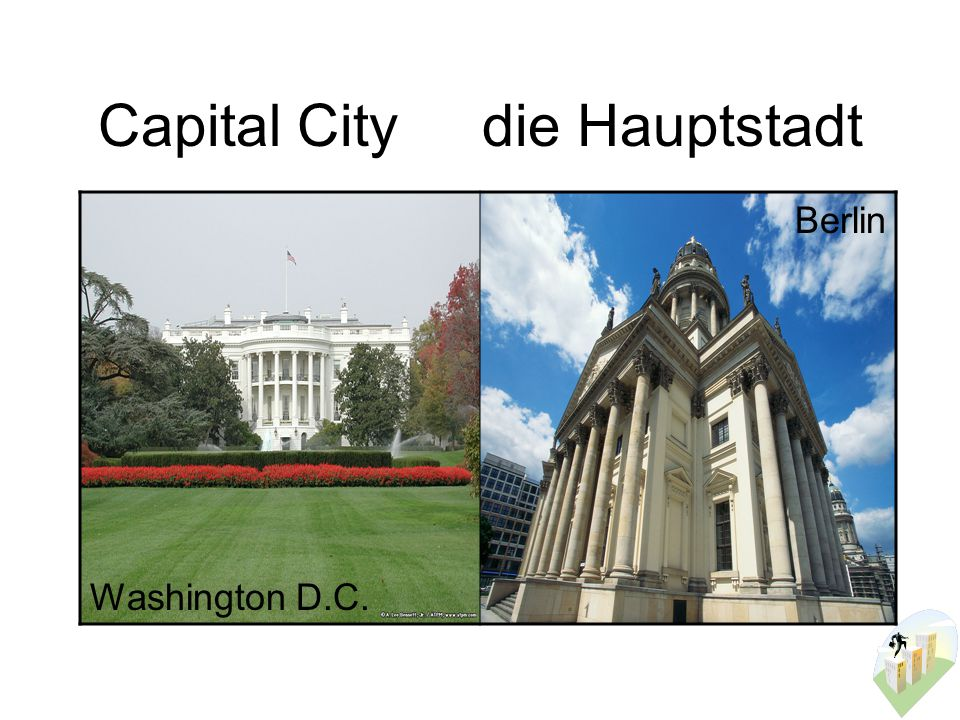 Capital Citydie Hauptstadt Washington D.C. Berlin